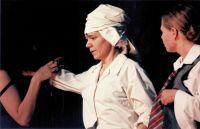 Lisa Graf (Gräfin), Carola Günther (Cherubin), Sabine Goetz (Susanna) © Frank Heller