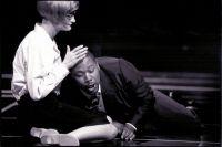 Sibylle Fischer (Marzelline), Derrick Lawrence (Figaro) © Frank Heller
