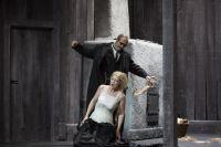 Michael Kupfer-Radecky (Wotan), Nancy Weissbach (Brünnhilde) © Stephan Walzl